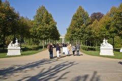 Parkera från Sanssoussi - Potsdam (Tyskland) Arkivbilder