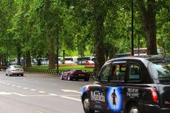 Parkera grändsikten London Royaltyfri Foto