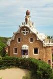 Parkera Guell i Barcelona Royaltyfri Fotografi