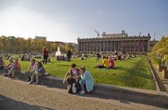 Parkera i Berlin Royaltyfria Foton