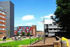 Parkera i Coventry stadsmitt Royaltyfria Foton