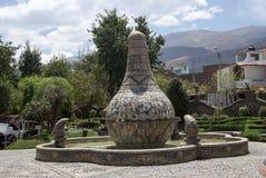 Parkera i Huancayo Peru royaltyfri foto
