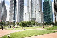 Parkera i Shanghai Arkivbild