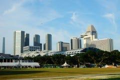 Parkera i Singapore Arkivbilder
