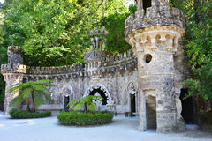 Parkera i Sintra, Portugal arkivfoton