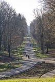 Parkera Maksimir Zagreb Royaltyfri Bild