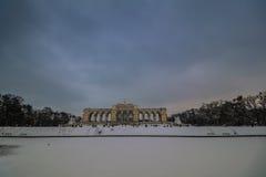 Parkera och förlägga Schönbrunn Wien Royaltyfria Foton