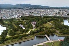 Parkera på Hakodate, Japan Fotografering för Bildbyråer