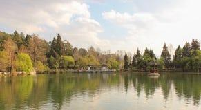 Parkera på Yunnan, Kina royaltyfria bilder