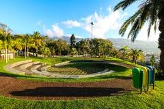 Parkera Santa Catarina, Funchal, madeira Fotografering för Bildbyråer