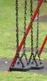 parkera swings Arkivfoto