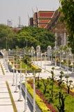 Parkera trädgården i Bangkok Royaltyfri Fotografi