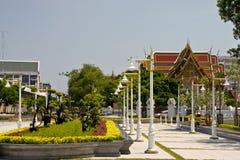 Parkera trädgården i Bangkok Fotografering för Bildbyråer