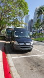 Parkerad transport Royaltyfri Bild
