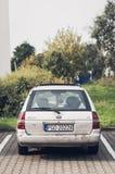 Parkerade Ford Escort Royaltyfria Bilder