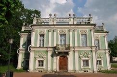 Parkerar italiensk hus` för ` i Kuskovo, Moskva Arkivfoto