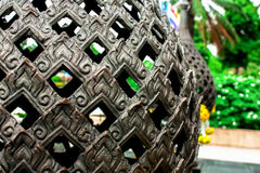 Parkerar keramisk lera för thailändsk konst i solsken på Royaltyfria Foton
