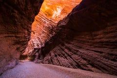Parkerar nationellt geologiskt för det Tianshan Grandet Canyon arkivfoton