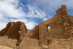 Parkerar nationellt historiskt för Chaco kultur Royaltyfri Fotografi