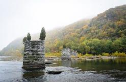 Parkerar nationellt historiskt för Harpersfärja royaltyfri fotografi