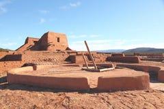 Parkerar nationellt historiskt för Pecos 3 royaltyfri bild