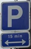 parkeren Stock Afbeeldingen