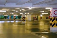Parkerenplaatsen Stock Foto's