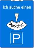 Parkerenschijf Stock Afbeeldingen