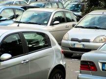 parkering Royaltyfri Bild