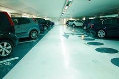 parkering Arkivbild