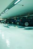 parkering Arkivfoto