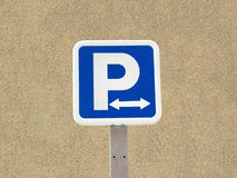 parkering royaltyfri foto
