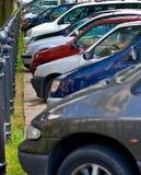 parkering Arkivbilder