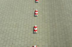 Parkeringsbarriär royaltyfri foto
