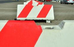 Parkeringsbarriär arkivbilder