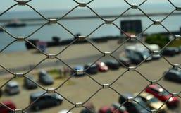 Parkeringsbarriär royaltyfri fotografi