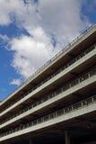 Parkeringshus i Manchester Royaltyfri Fotografi