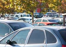 parkeringshussupermarket Royaltyfri Foto