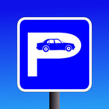 parkeringshustecken Royaltyfri Fotografi