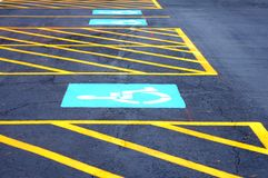 parkeringsplats Royaltyfri Fotografi