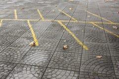 Parkeringsplats Royaltyfri Bild