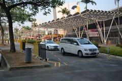 Parkeringsplats Royaltyfri Foto