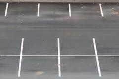 Parkeringsplats Arkivfoto