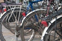 Parkeringsplats för cykel royaltyfri fotografi