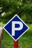 parkeringssignalering royaltyfri fotografi