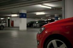 parkeringstunnelbana Arkivfoton