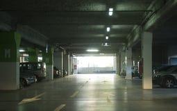 parkeringstunnelbana Fotografering för Bildbyråer
