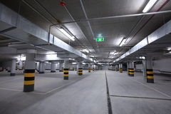 parkeringstunnelbana Royaltyfri Fotografi