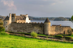 Parkes Castle in County Leitrim. Ireland Royalty Free Stock Photography