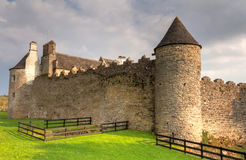 Parkes Castle in County Leitrim, Ireland Royalty Free Stock Photos